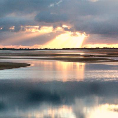 Afon Dyfi Sunbeams