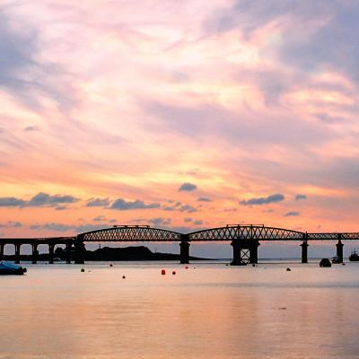 Afon Mawddach Barmouth Bridge