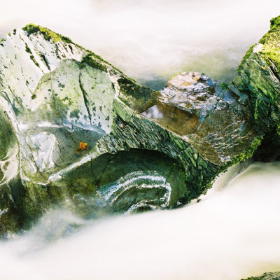 Rock Feature Afon Dyfi
