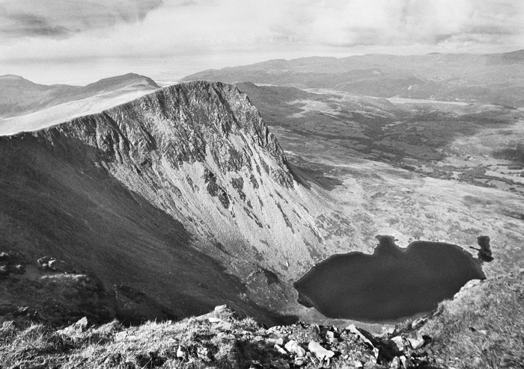 View from the Summit of Cader idris looking North-west