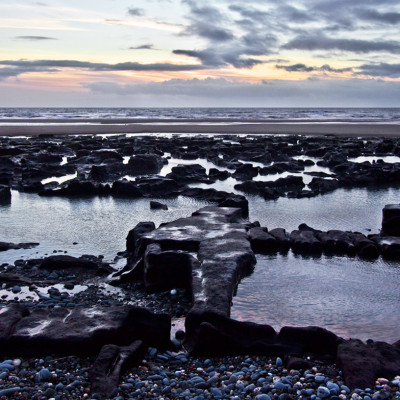 Ancient Peat on Cardigan Bay