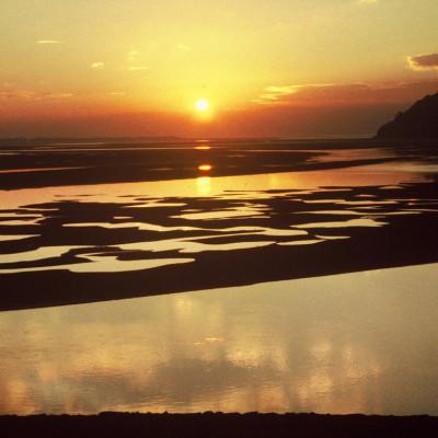 Afon Dyfi Sunset
