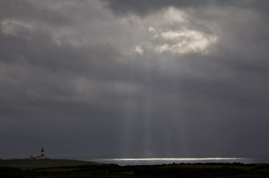 Storm over Bardsey Island