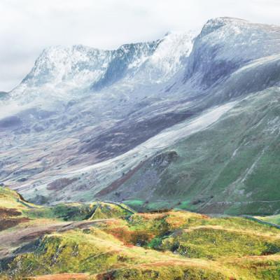 Cadair Idris Ridge in Winter