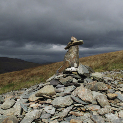 Old Cairn above Barmouth