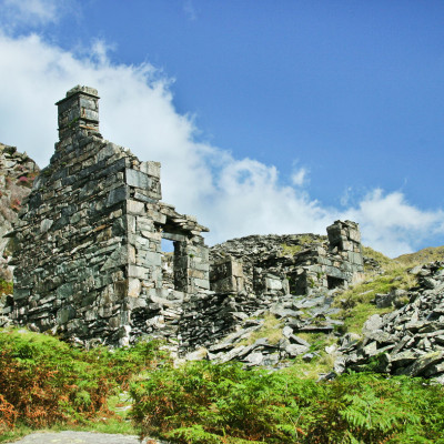 Ruined Slate Quarry House