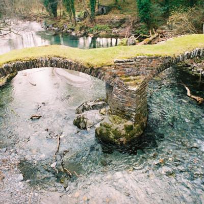 Afon Dyfi at Dinas Mawddwy