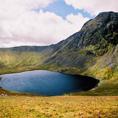 Source of Afon Dyfi