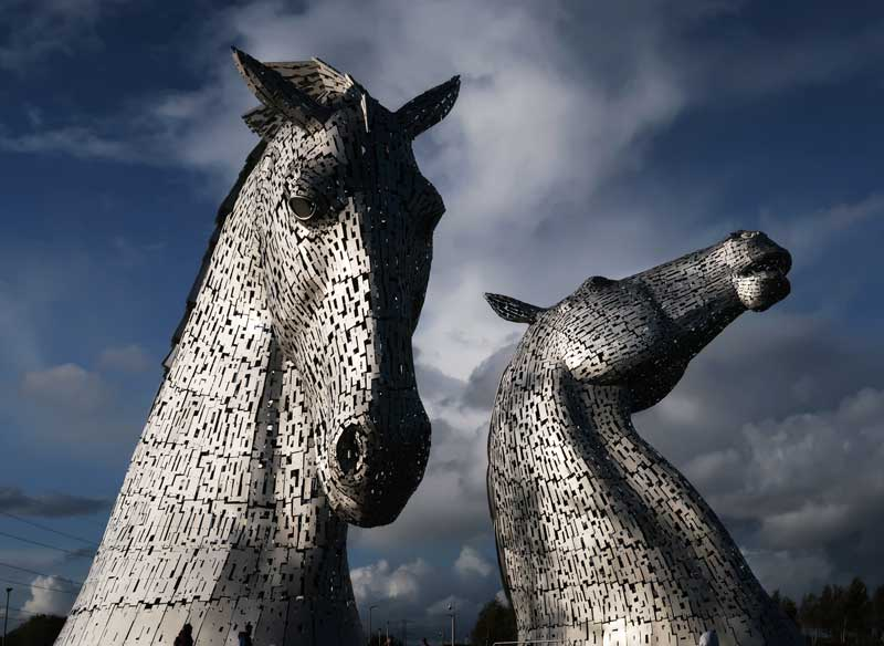 The Kelpies!