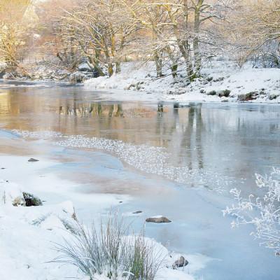 Afon Lledr in Winter