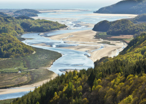 Mawddach Estuary near Barmouth