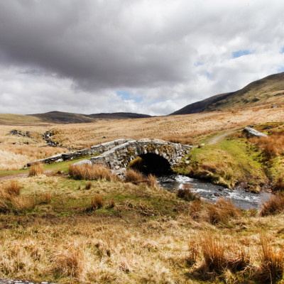 Pont Scethin on Old Drovers Route