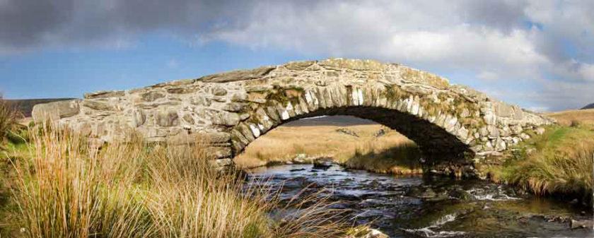 Walk Along Ancient Way in North Wales