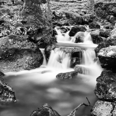 Afon Gader below Cader Idris