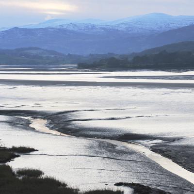 Afon Conwy at Tal-y-Bont