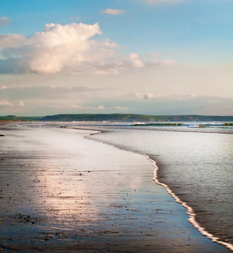 Quiet Moment on Cardigan Bay