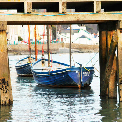 Old Wharf at Aberdyfi