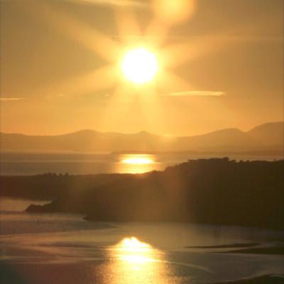 Afon Glasllyn Sunset