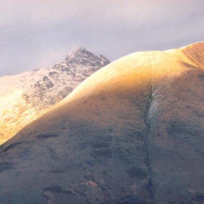 Top of Cader Idris at Sunset