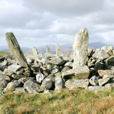 Bryn Caderfaner Stone Circle