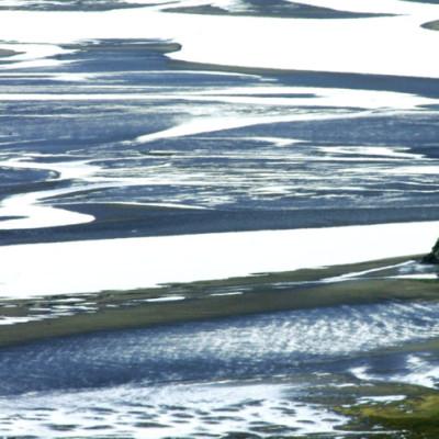 Afon Mawddach Blue Estuary