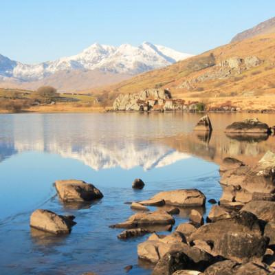 Snowdon/Yr Wyddfa in Winter