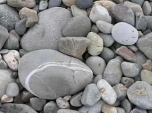 Beach Stones on Fairbourne Beach