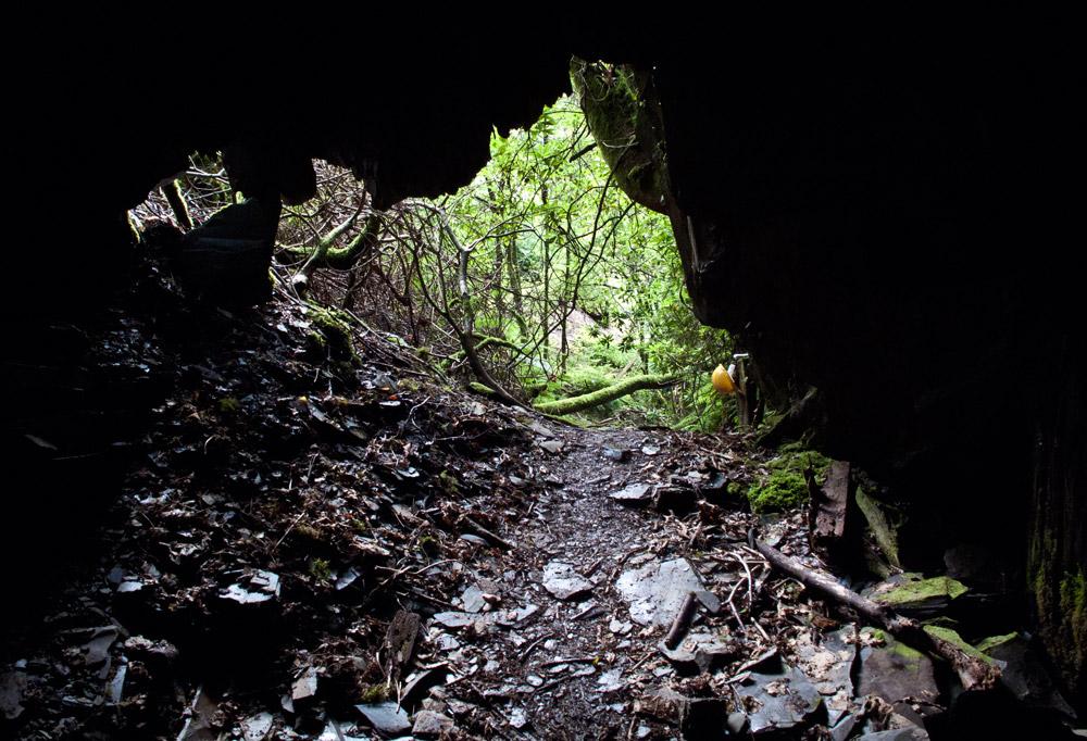 Entrance to Slate Quarry