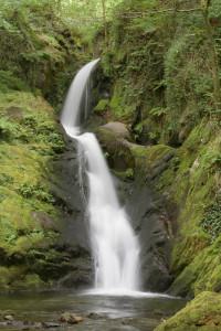 Dolgoch Falls in Snowdonia