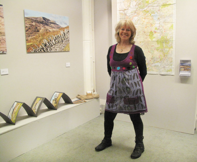 Grand Day at the MA Exhibition in SOA Aberystwyth!