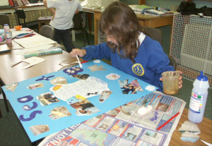 Aberdyfi School Art and Photography Project linking the school to Moya Centre children in Swaziland sponsored by myself