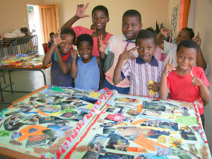 After School CLub at Moya Healing and Peace Centre Swaziland sponsored privately by myself