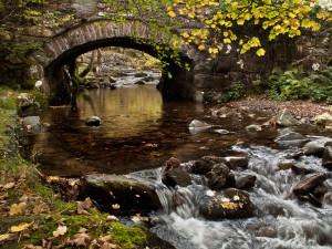 Bridge at Ty Nant at Bottom of Cadair Idris