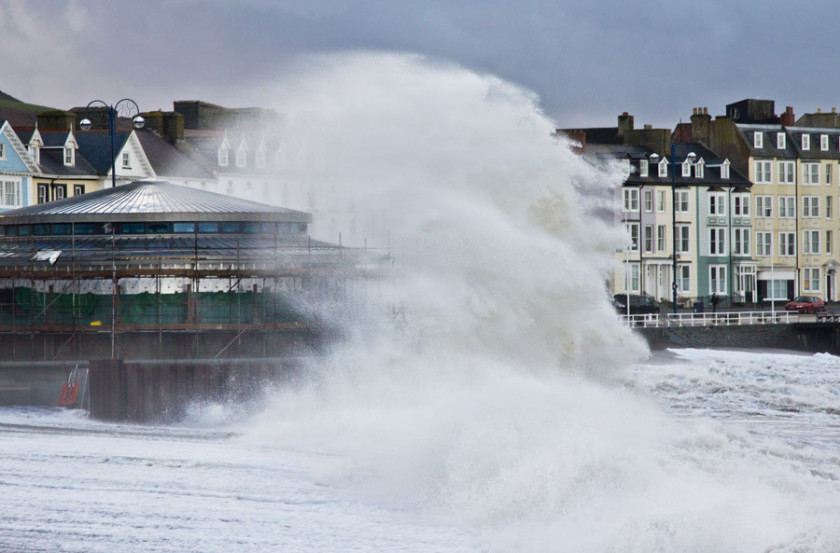 Wild Weather in North Wales!