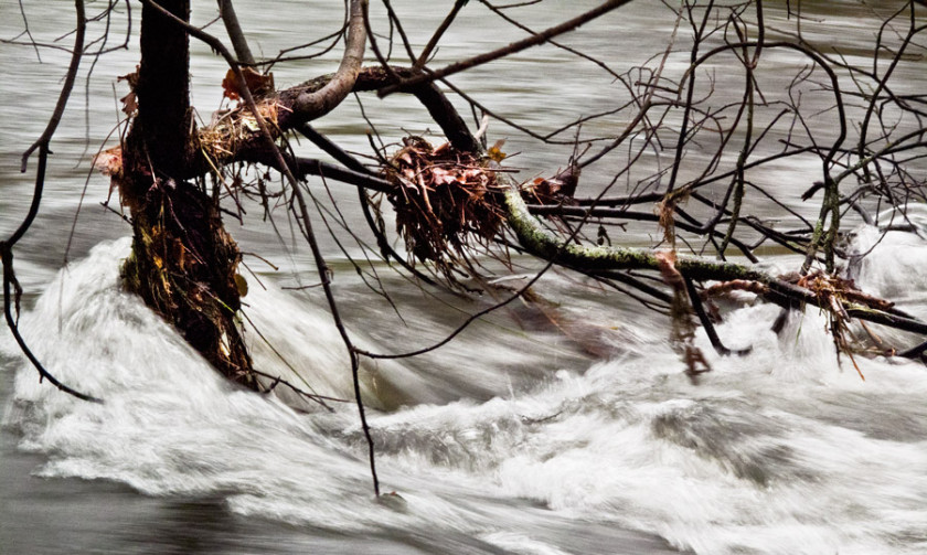 Snowdonia Rivers in Flood