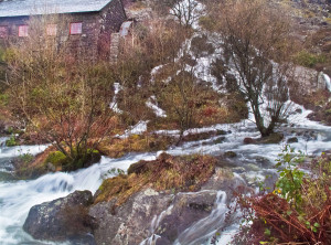 A friend's Mill in Danger from the Feeding Stream