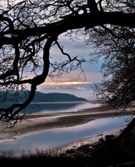 Last Light over Afon Mawddach