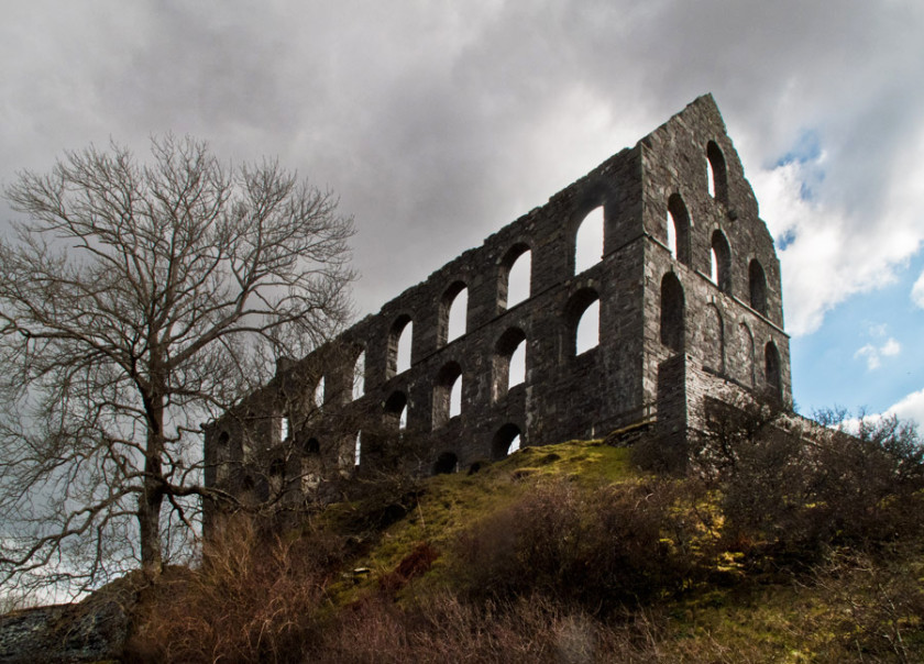 Cwm Ystradllyn Slate Quarry