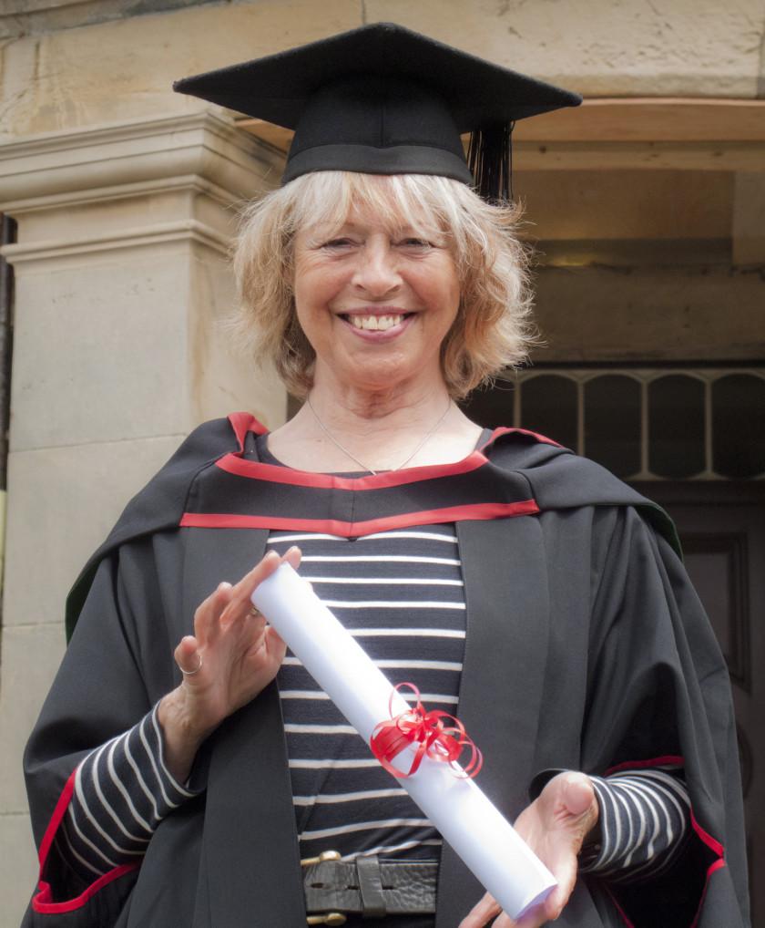 Graduation Day at The School of Art, Aberystwyth University